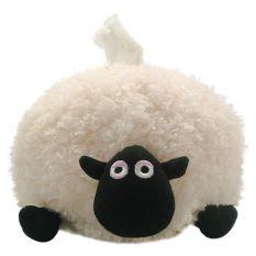 Shaun The Sheep - Shirley Tissue Cover - Boneka Tempat Tisu