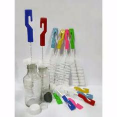 Sikat botol kepala kecil isi 2 - sikat botol asi asip - sikat botol uc - sikat dot