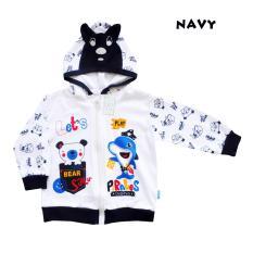 Skabe Baby Jaket Putih Bayi Laki 2268 - Navy