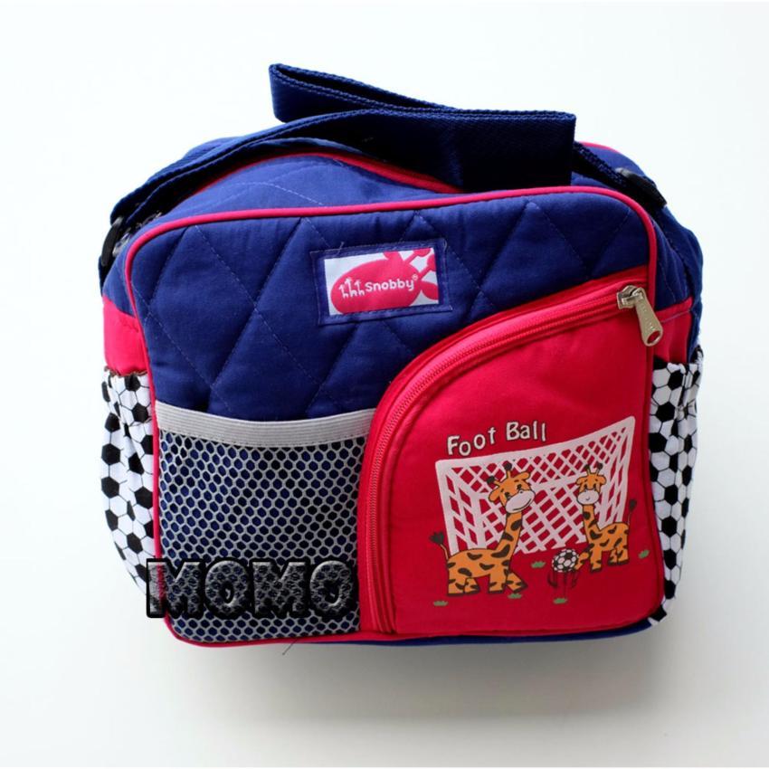 Diaper Bags Source Snobby Tas Bayi Kecil Saku Football TPT 1973 Pink Biru .