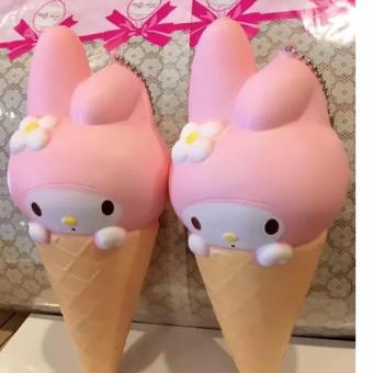 Squishy Es Krim Terbaru Cute Pink