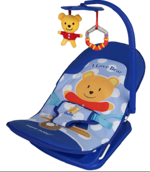 Sugar Baby Infant Seat Bouncer - I LOVE BEAR - 2