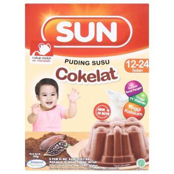 harga Sun Puding Susu Coklat 100gr Lazada.co.id