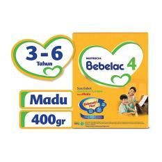 Terlaris - Bebelac 4 Bebenutri Plus Susu Pertumbuhan - Madu - 400 gr