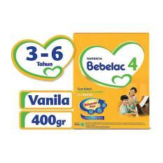 Terlaris - Bebelac 4 Bebenutri Plus Susu Pertumbuhan - Vanila - 400 gr