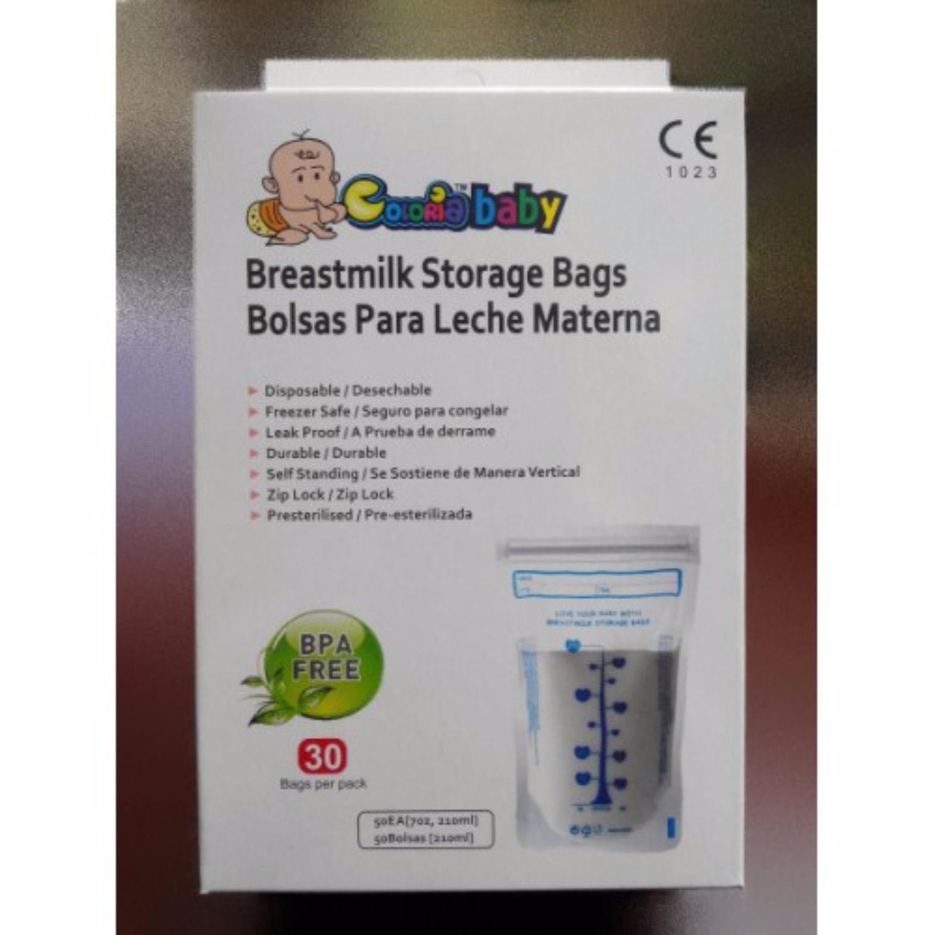 the coloria breastmilk storage bag kantong asi lazada indonesia
