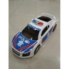 Tomindo Mobil Mobilan Polisi Indonesia Putih (ukuran +/- 35 cm)