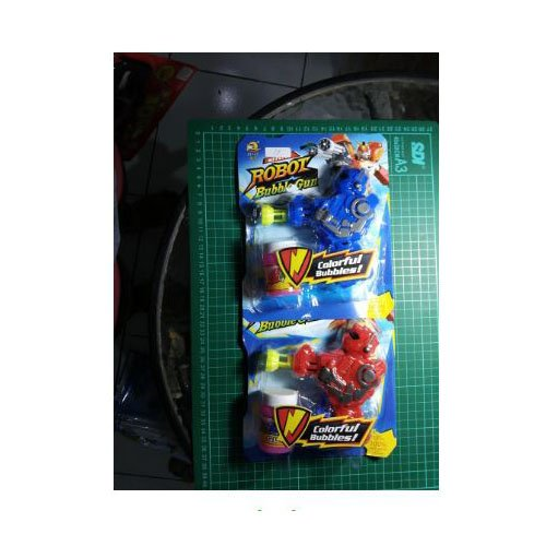 Toys Empire Robot Bubble Gun Set 918 Bamb / Mainan Gelembung Sabun,