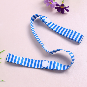Detail Gambar Toys Fixed Stroller Accessory Strap Holder Bind Belt Toy Anti-lost band (Blue) - intl Terbaru