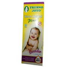 Tresno Joyo Minyak Telon Herbal Plus - Lavender 60 ml - Minyak Telon Anti Nyamuk