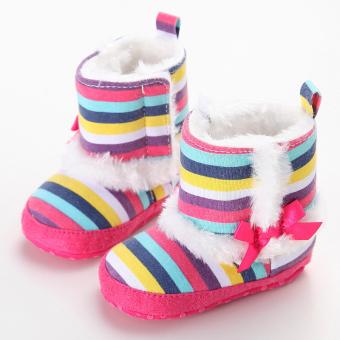 Warnawarni Sepatu Boot Balita Bayi Baru Lahir-18 Bulan BayiLaki-Laki Satu- Satunya