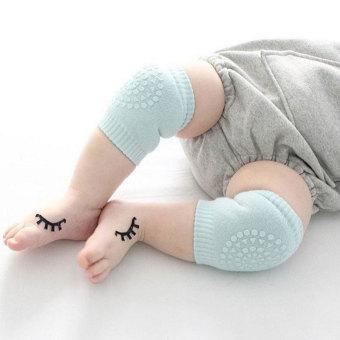 YBC 1 Pasang Kapas Bantalan Lutut Bayi Anak Anti Slip MerangkakAman Pelindung Penghangat Kaki Abu-. Source · Pelindung Penghangat Kaki Abu Abu Gelap.