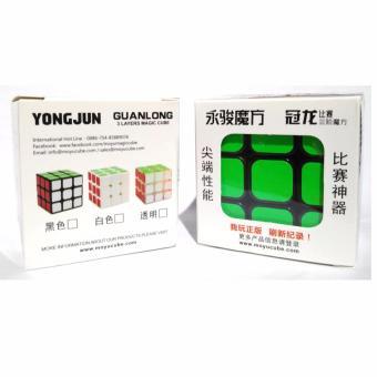 Yongjun-Rubik 3x3 base hitam murah - 3 .