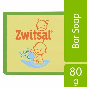 Zwitsal Baby Bar Soap Natural Milk & Honey 80gr