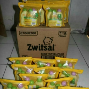 Zwitsal Travel Pack 4 in 1