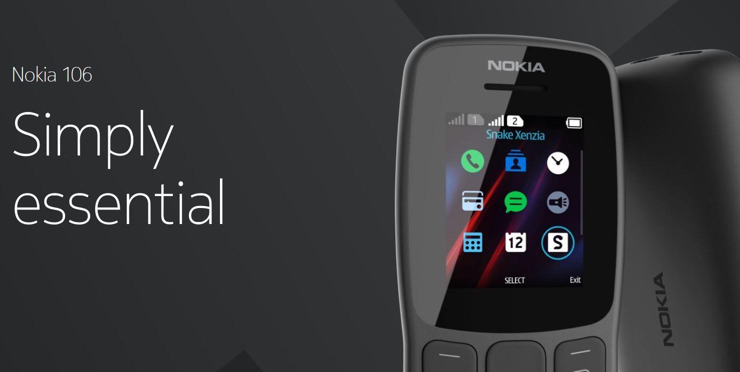 New Nokia 106 2018 ORIGINAL - Dual Sim - Radio FM - Hp unik / desain unik / hp murah