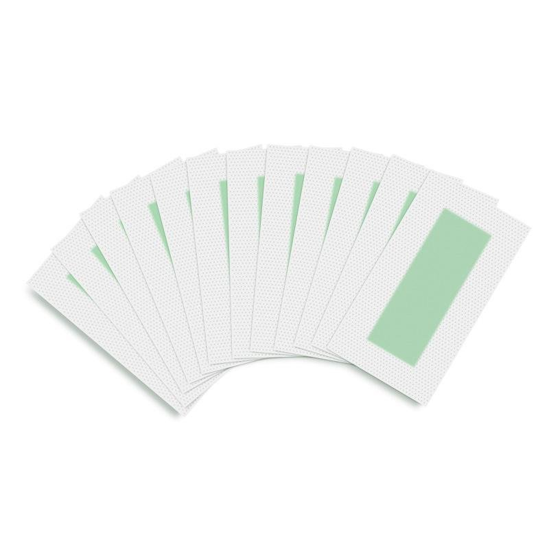 ... 10PCS Double Side Hair Removal Cold Wax Strips Paper For Body Facial Hair Remove - intl ...