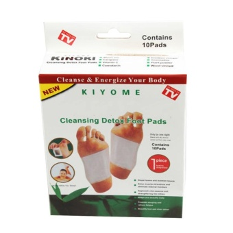 10pcs Kinoki Detox Foot Pads Cleansing Patches With Adhesive FitHealth Care - intl