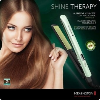 Harga 2017 Hot Remington LCD Fast Hair Straightener SimplyStraightingIron Shine Therapy Ceramic Hair Flat Iron WholesalePrice S9960 – intl Murah
