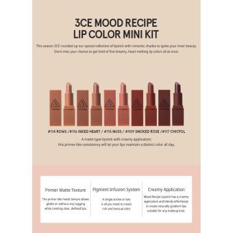3CE Stylenanda Mood recipe mini kit - 5 pieces - 2