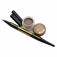 Aimons Landbis Eyebrow Gel 3 In 1 Eyeliner & Brush #2 - Dark Brown