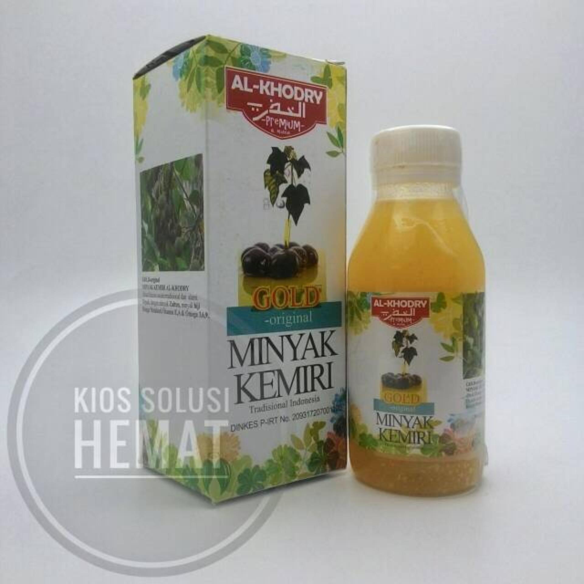 Harga Penawaran Al Khodry Herbal Minyak Kemiri Gold Plus Zaitun Penumbuh Rambut Jambang Krim Mirip Wak Doyok Tapi  Original Premium Penyubur Jenggot