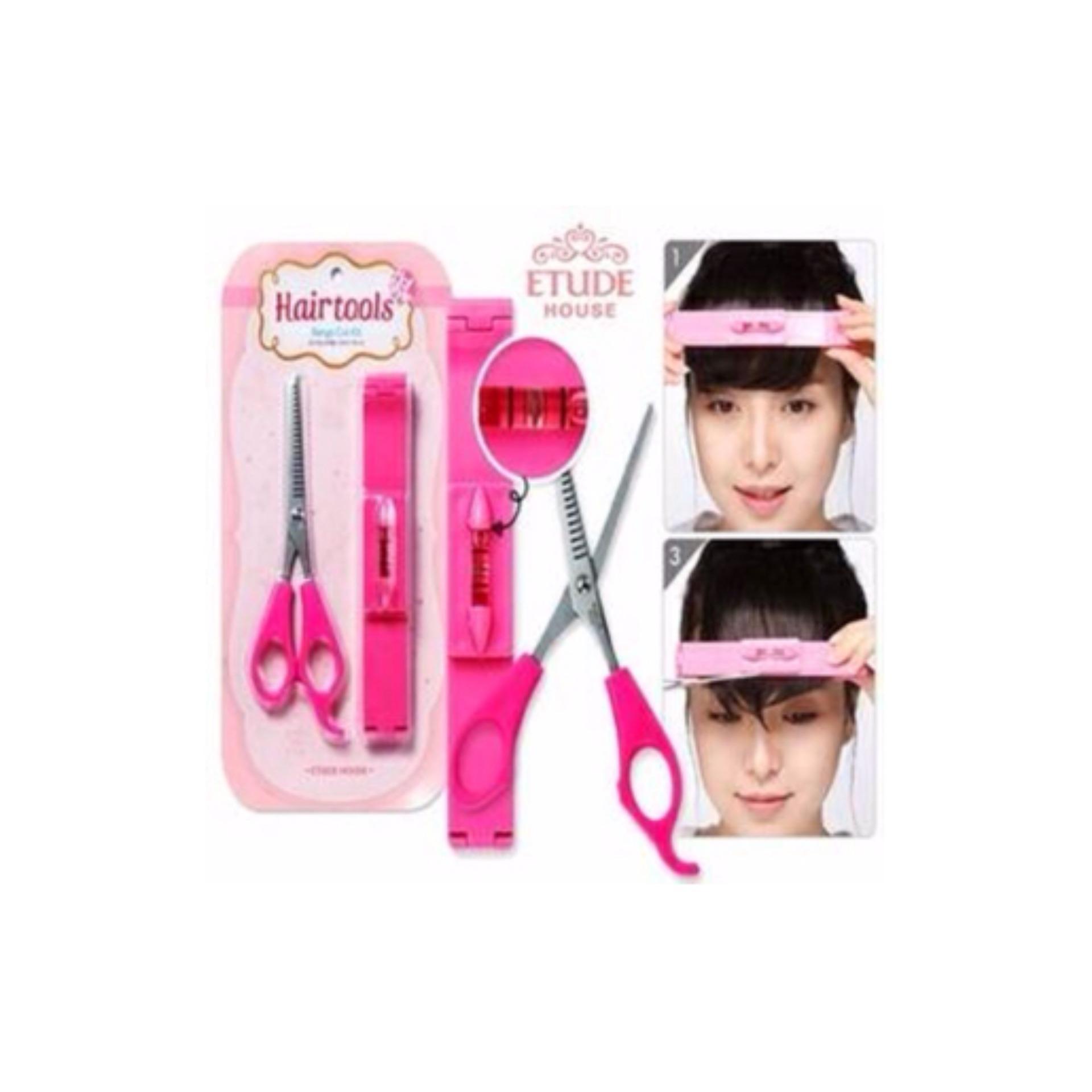 ... Alat Bantu Potong Rambut Hair Tools Gunting Poni Artifact Bangs cut ... ff3a67885d