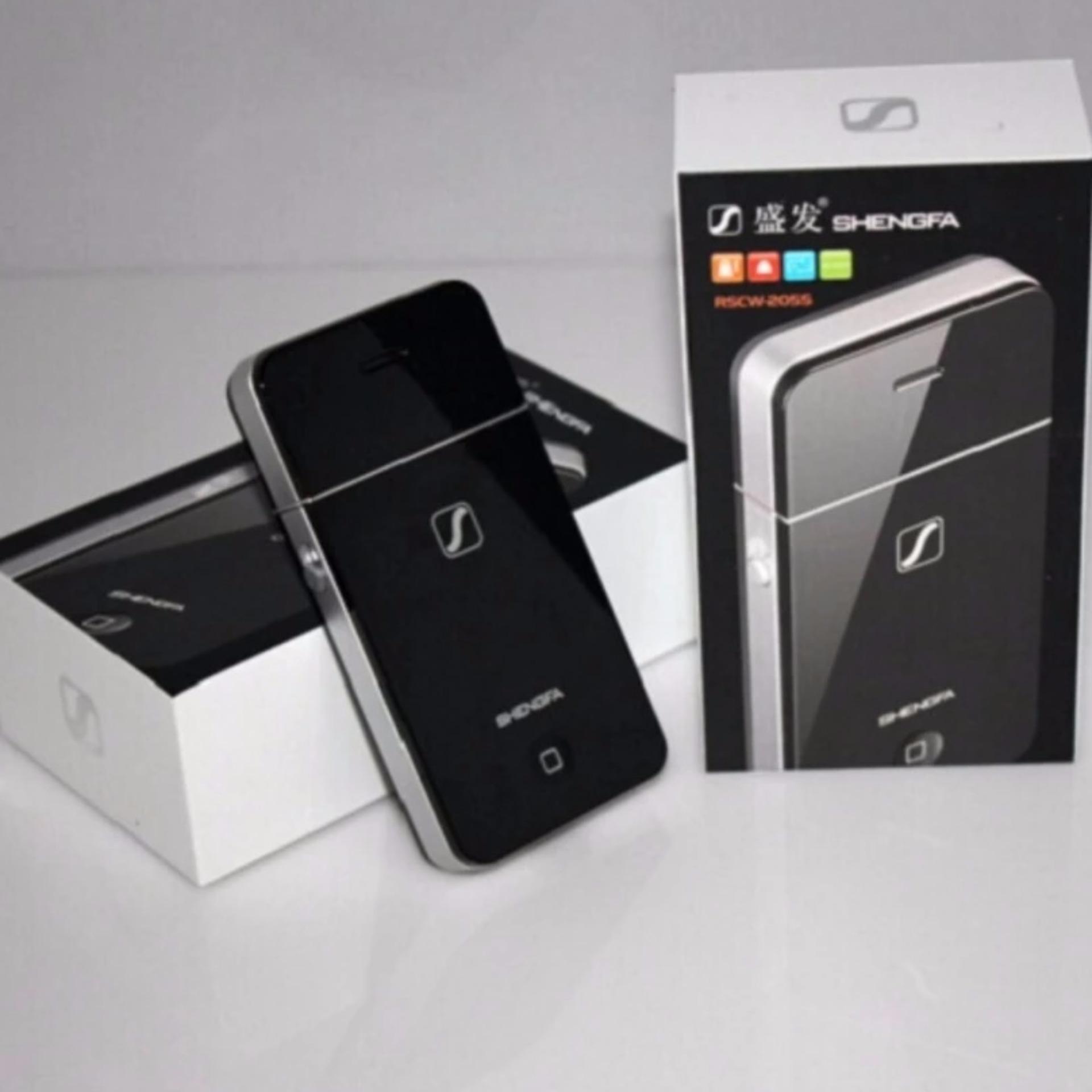 Alat Cukur Kumis Jenggot SHENGFA RSCW-2055   Electric ShaverRechargeable Apple 4 Style Razor Shall
