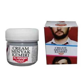 Harga Alkhodry Cream Minyak Kemiri Penumbuh Rambut dan Bulu Murah