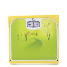 Alldaysmart Timbangan Badan Kapasitas 130 kg Motif Hutan