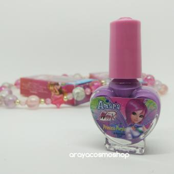 Amara Nail Polish For Kids Princess Purple