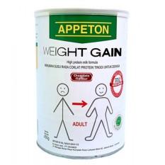 Appeton Weight Gain Susu Rasa Cokelat 450gram Adult/Dewasa