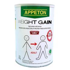 Appeton Weight Gain Susu Rasa Coklat Dewasa - 450 gram Adults Cokelat