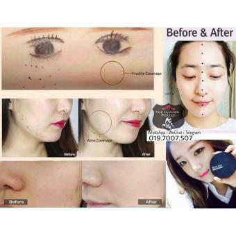April Skin Magic Snow Cushion Black 2.0 Mochi RENEWAL / BedakCushion April Skin Magic Make Up Ala Korea Best Seller Original -22Light Pink - 2