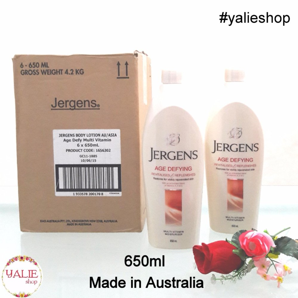 ASLI Jergens Age Defying 650ml (Made in Australia) (IMPORT)