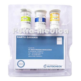 Autocheck GCU 3in1 Alat Cek Gula Darah, Kolesterol, Asam Urat [Black] - 3