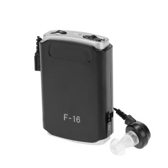 ... AXON F-16 saku Mini alat bantu dengar dalam telinga tuli bantuan penguat suara dengan