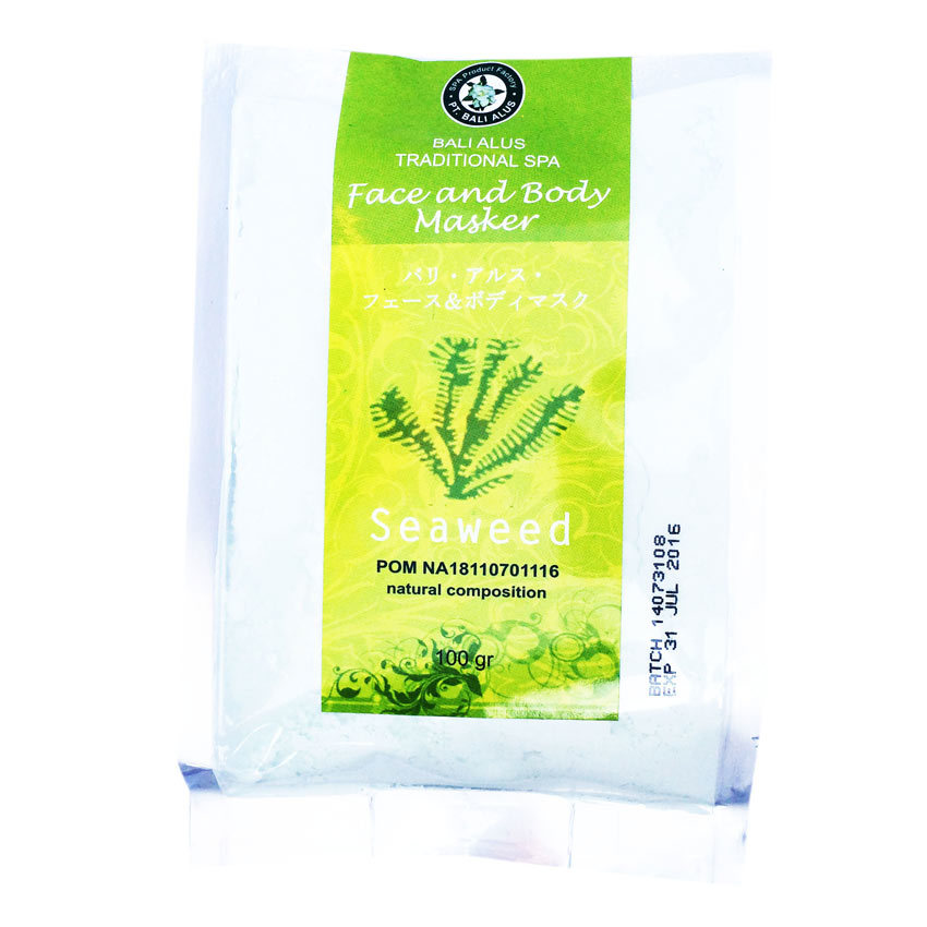 Bali Alus Face & Body Mask Seaweed - 100 gr - 2 Buah
