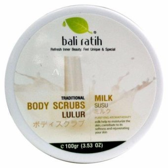 Bali Ratih - Body Scrub 110mL - Milk