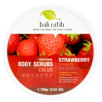 Bali Ratih - Body Scrub 110mL - Strawberry