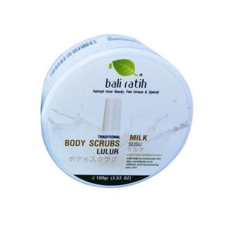 Bali Ratih Body Scrub - Milk