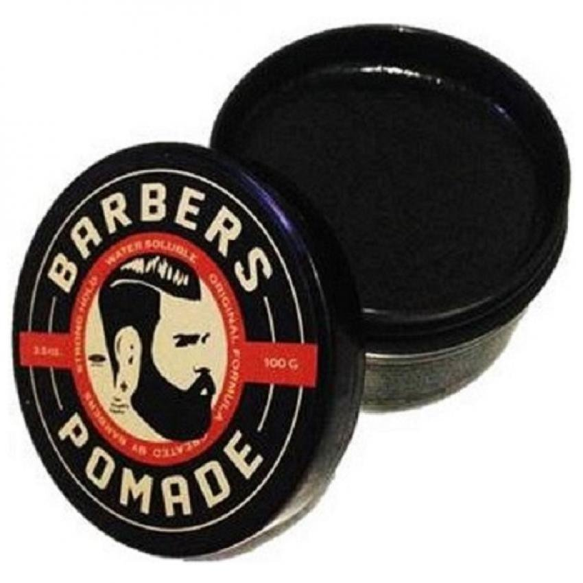 TERMURAH..! Barbers Pomade Ukuran 100 gr – 3.5 oz, Waterbased, Strong Hold Terbagus