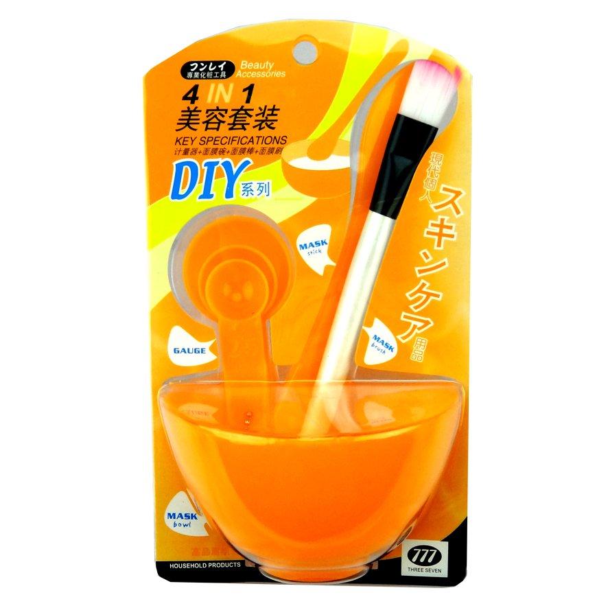 Be U Mangkok Masker Set 4 in1 - Orange