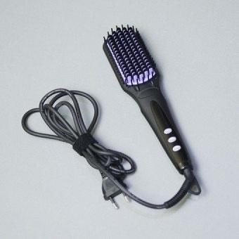 Harga Berta Titanium Ionic Hair Straightener/Flat Iron Knob Temp 248Fto450F Black New(OVERSEAS) – intl Murah