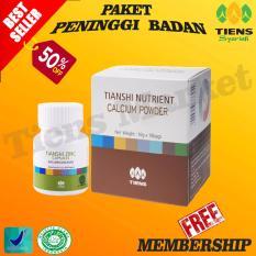 Tiens Peninggi Badan Terbaik–Nutrient High Calcium Powder + Zinc .
