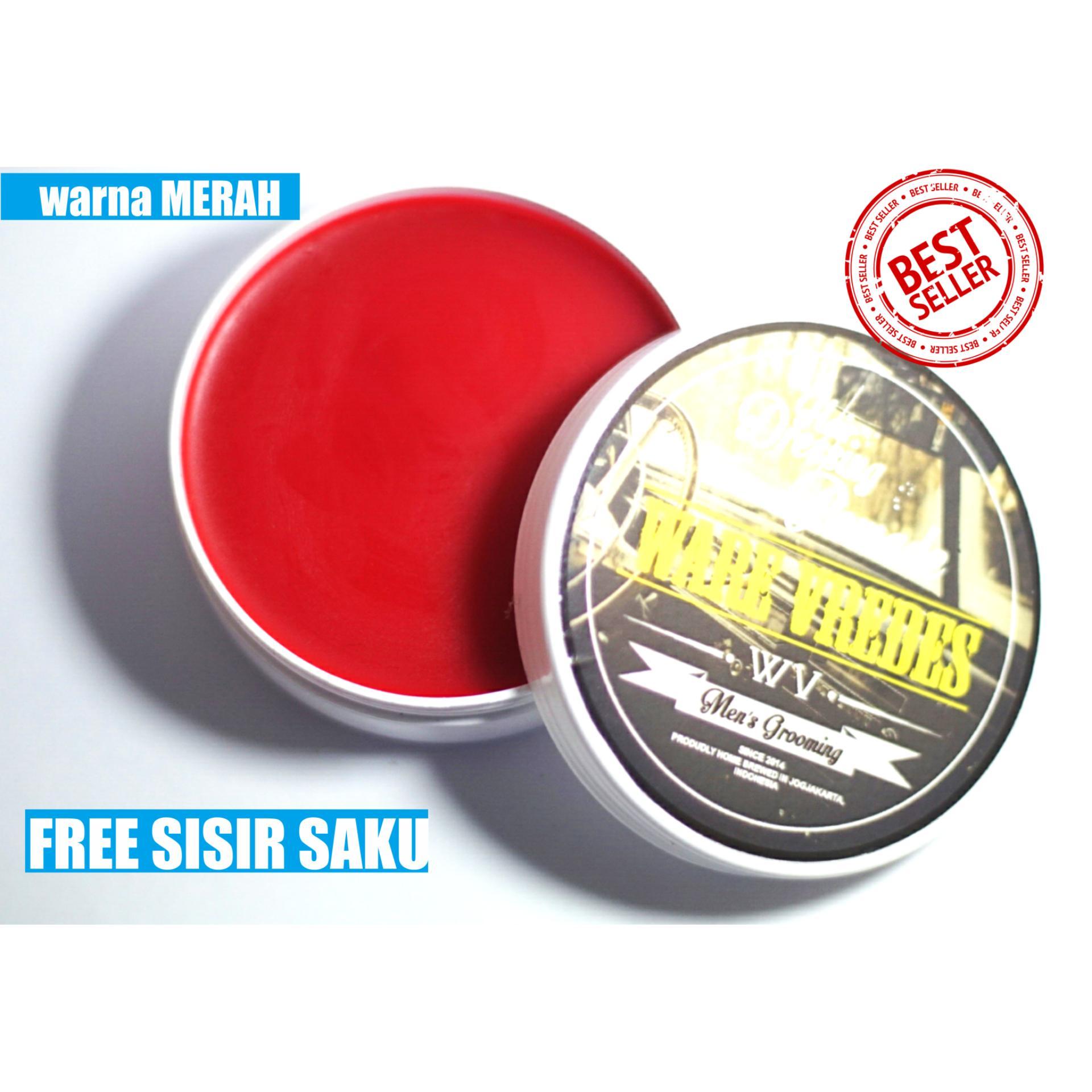 HARGA Best seller !!! Ware Vredes – Pomade Beeswax – Aroma Vanilla – Hard – Free Sisir Saku – 50 Gram Terpopuler