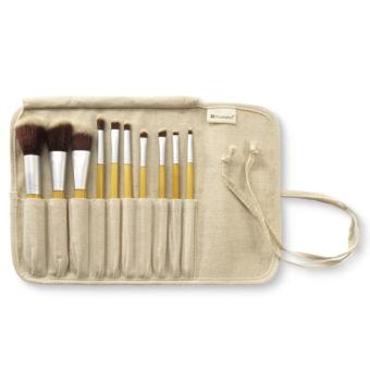 BH Cosmetics Eco Luxe 10 Brush Set Original - Kuas Aplikator MakeUp