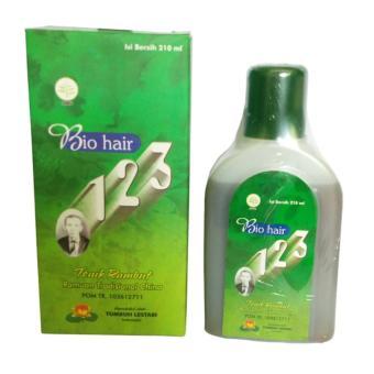 Harga Bio Hair 123 Tonic Rambut 210ml – Hijau Murah