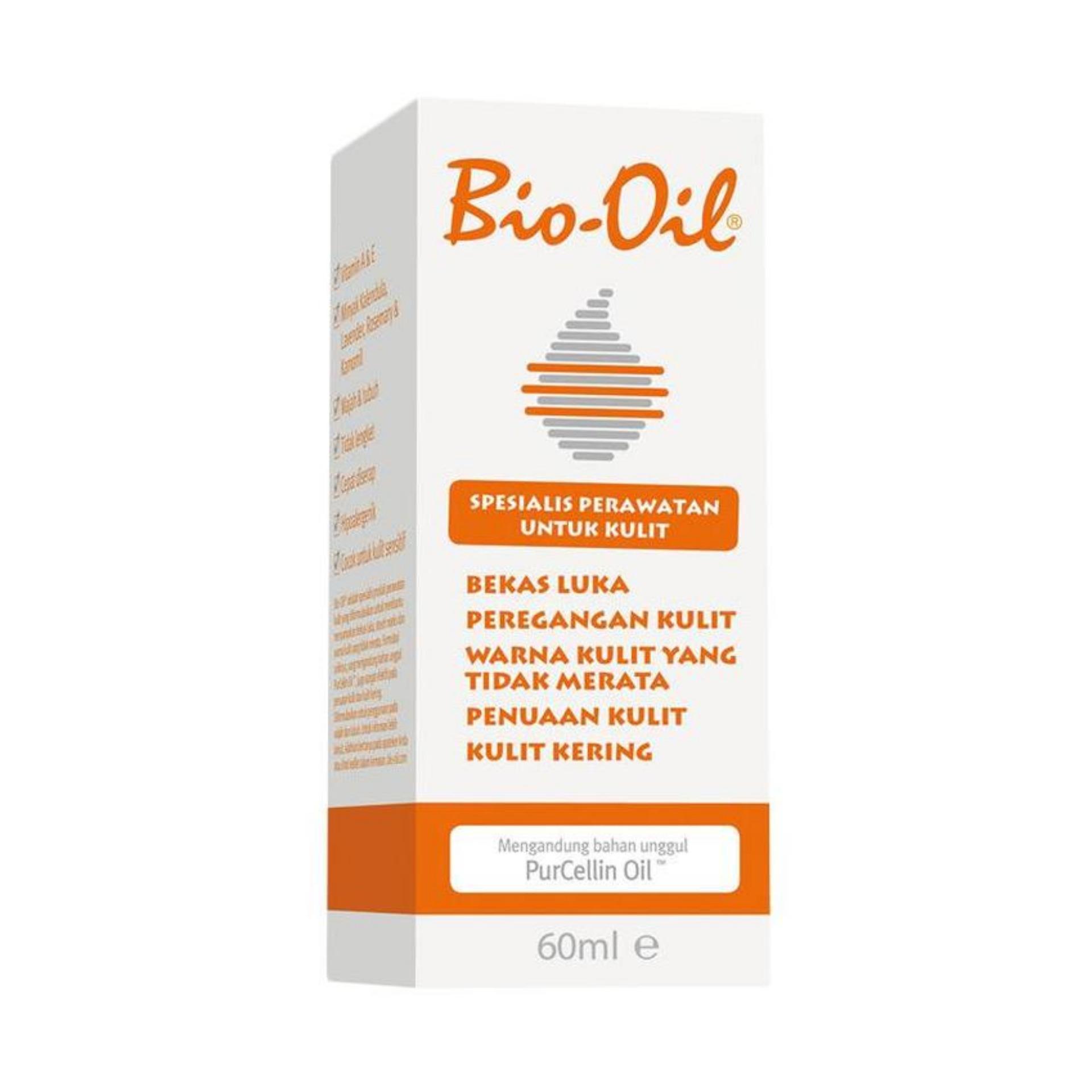Bio Oil Anti Stretch Mark 60ml Penghilang scar stretch mark perawatan kulit