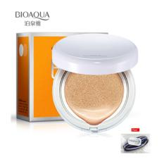 BIOAQUA BB Cream Air Cushion Original #01 - Natural + Free Ikat Rambut Polkadope - 1 Pcs